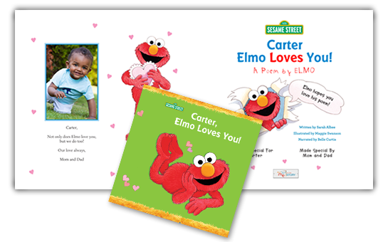 Elmo Loves You! Personalized Children's Book