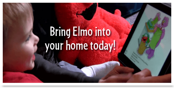 Elmo Loves You! Interactive Children's Book App