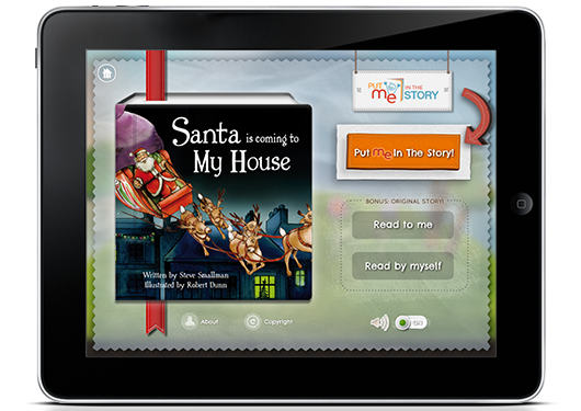 Santa is Coming to My House iPad Edition
