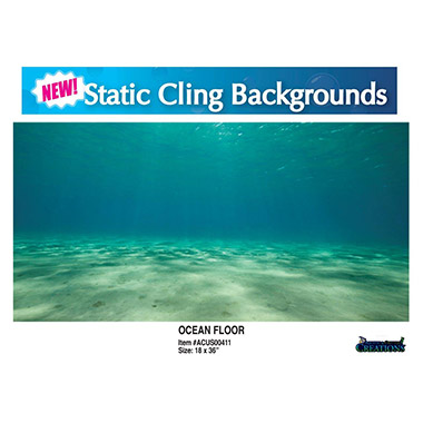Static Cling Background Ocean