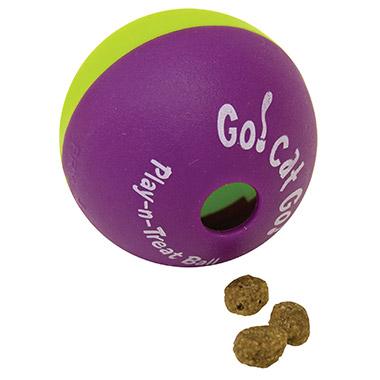 Interactive Plan-n-Treat Ball treat & catnip dispenser