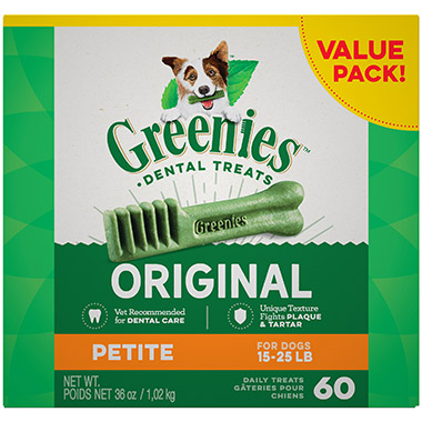 Canine Dental Chews Teenie