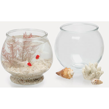Glass Footed Fish Bowl thumbnail1