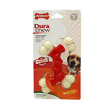 Dura Chew Double Bone Bacon