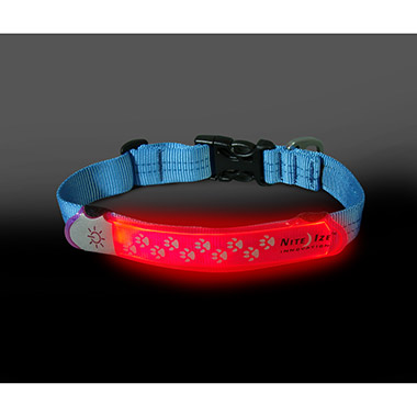 Nite Dawg LED Collar Cover Pink thumbnail1