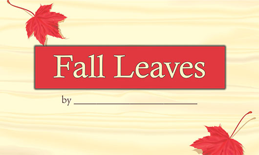 Fall Leaves downloadable book
