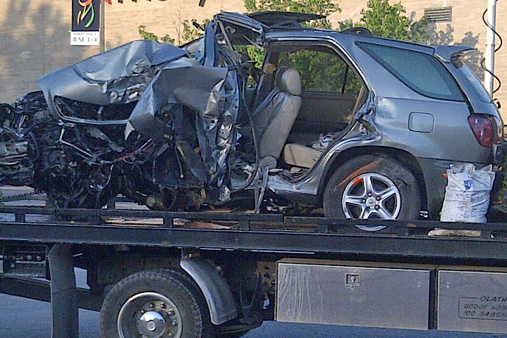 Shawnee Mission Hyundai >> Images from scene of early Sunday car accident in Prairie Village