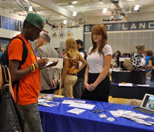 Representatives from dozens of colleges across the country will set up at SM East.