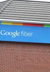 The Google Fiber building in Midtown.
