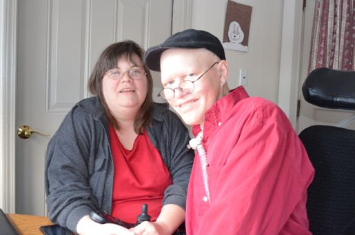 Finn Bullers and his wife Anne, pictured in January.