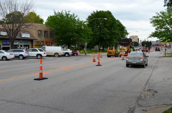 Utility work started this week on Johnson Drive in Mission.