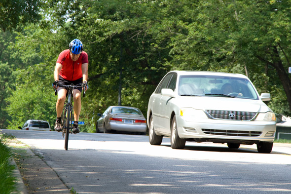Improving bikability in northeast Johnson County has been an early issue brought forth by some NEJC candidates.