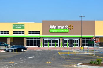 The Walmart market is scheduled to open September 18.