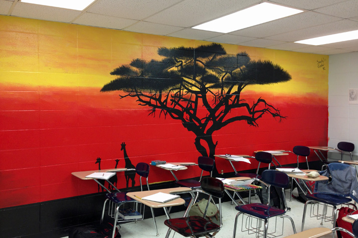 some students irked by plans to paint over reproduce