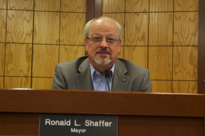 Prairie Village Mayor Ron Shaffer may not see the end of his fourth term in office if his bid for a County Commission seat is successful.