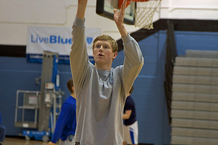 Sophomore standout Lucas Jones and the Lancers will try to make it two victories in a row over Rockhurst Friday.