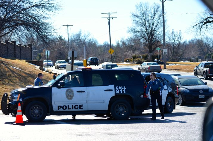 Mission police investigated a pedestrian-vehicle accident Saturday morning at Shawnee Mission Parkway and Lamar.