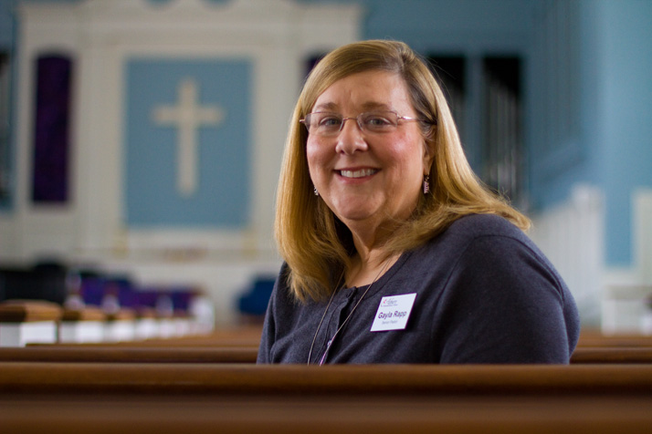 A year after suffering a stroke the day before Easter 2013, Asbury Rev. Gayla Rapp will be behind the pulpit Sunday.