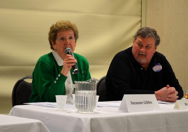 Suzie Gibbs and Bill Nichols offered their views.