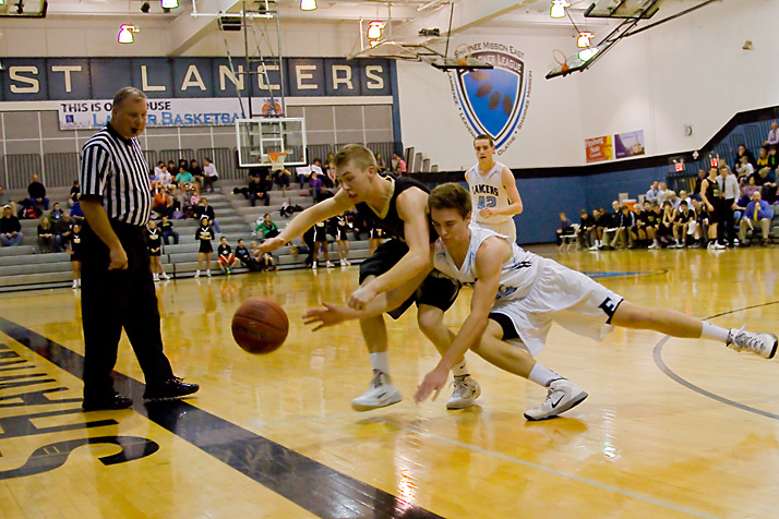 The Lancers were plagued by turnovers in the third quarter, letting Blue Valley build a commanding lead heading into the fourth quarter.