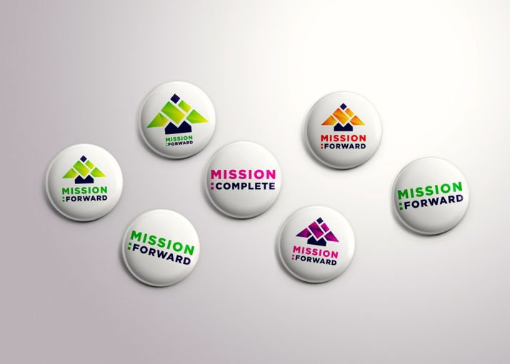 These buttons show possibilities for the Mission campaign.