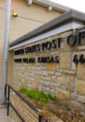 The Post Office facility on 73rd Terrace in Prairie Village will be closing.