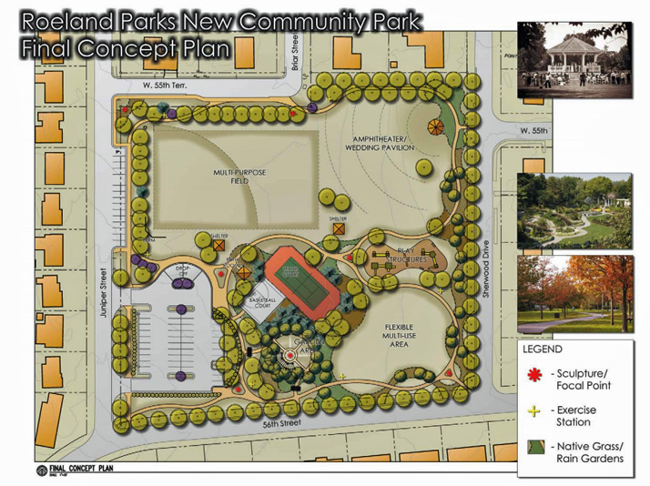 A rendering of the concept for R Park from the 2010 comprehensive plan.