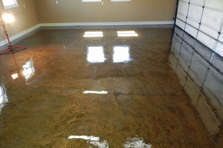 New Metallic Epoxy Flooring A Gamechanger For Business And - What does it cost to epoxy a garage floor