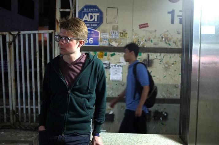 Sam Buchanan in Korea during his study abroad program his junior year. Photo courtesy Sam Buchanan.