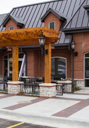 Funds from the CID approved by the Prairie Village City Council in 2010 were used for the construction of the new building that houses Starbucks at the Village Shops.