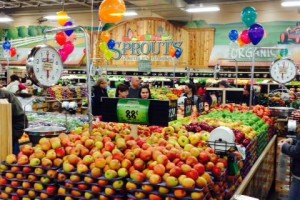 Sprouts now has locations in south Overland Park and Lenexa. The natural grocer is an announced tenant for the Mission Gateway development, as well. Photo via Sprouts Facebook.