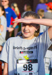Ella Higgins, 12, is the female Dragon Dash champion for the second year in a row.