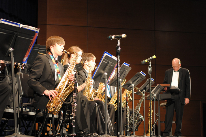 SM East Jazz Winter Concert. Photo via SM East Bands Flickr page.