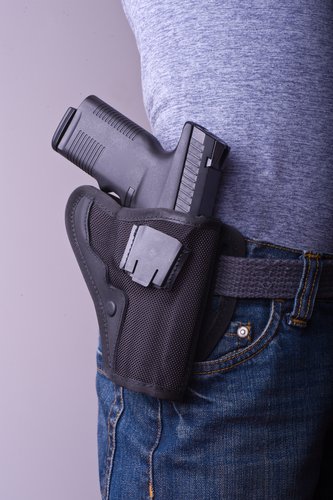 Openly carrying firearms in public spaces like parks will be legal in Prairie Village when HB