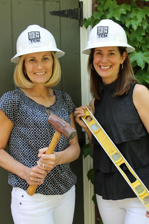 Kelly LeGard, left, and Allison Harding are co-chairs of this year's Renovation Sensation event.