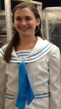 Megan Walstrom has been putting in long hours as part of the cast of The Sound of Music at Starlight.