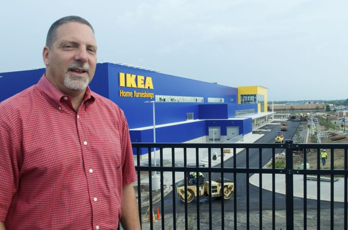 Merriam Police Chief Mike Daniels has a first-hand view of IKEA standing at the police  department.