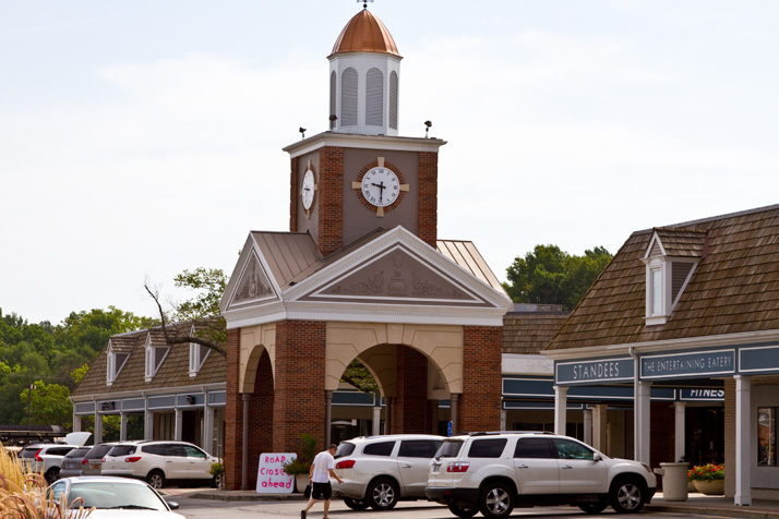 The Village Shops is one of three NEJC properties that could change hands under a real estate deal with a Maryland-based company.