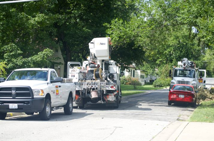Storms Of Early Labor Day Left Neighborhoods Without Power