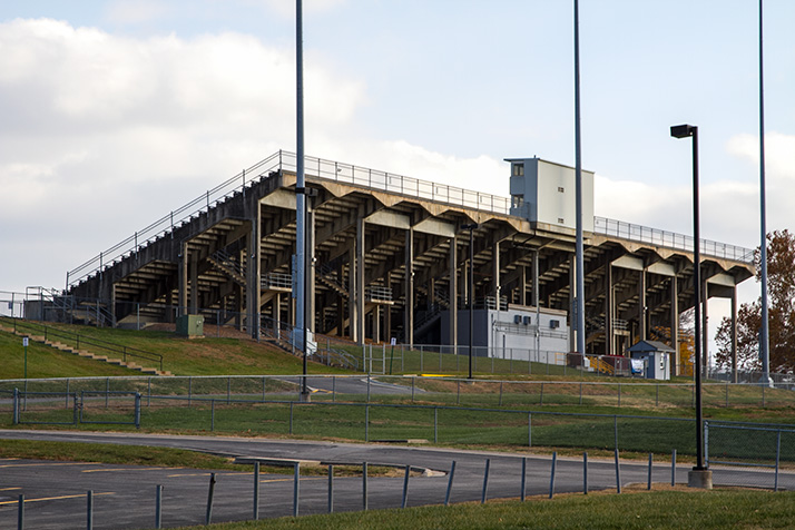 Image result for shawnee mission south district stadium fan section