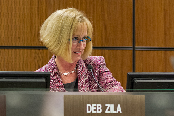 Deb Zila has represented the SM South area on the Shawnee Mission Board of Education since 2007. CBIZ, a district contractor, hired her daughter for an on-site job with the district last year.