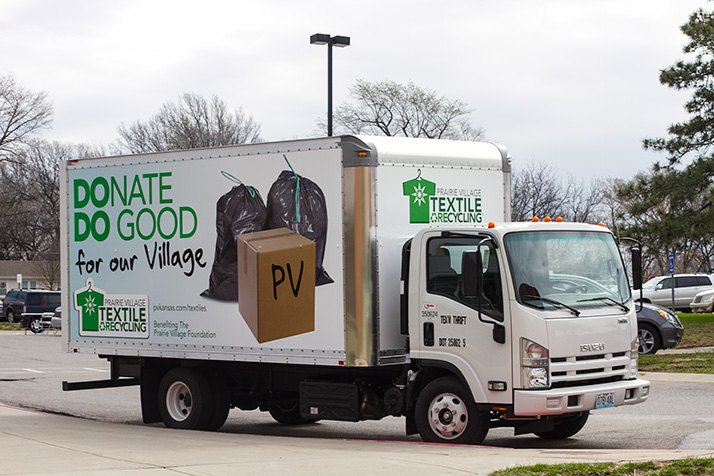 Prairie Village cutting ties with Team Thrift on textile recycling