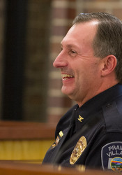 Wes Jordan served as Prairie Village Police Chief through 2015, when he became assistant city administrator.