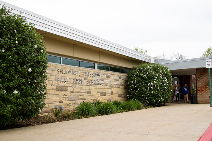 Despite an agreement designed to keep the students from seeing each other, Kessler Lichtenegger used this SM East entrance that had been designated for use by his victim, causing her to encounter him before school.