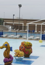 The Merriam Aquatic Center is filled with water and nearly ready to go for the 2015 season. Repairs, however, are needed in the future for the pools.