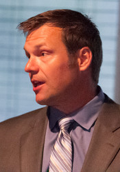 Kansas Sec. of State Kris Kobach, who is running for governor.