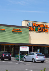 Natural Grocers is the anchor tenant at Cornerstone Commons in Mission.
