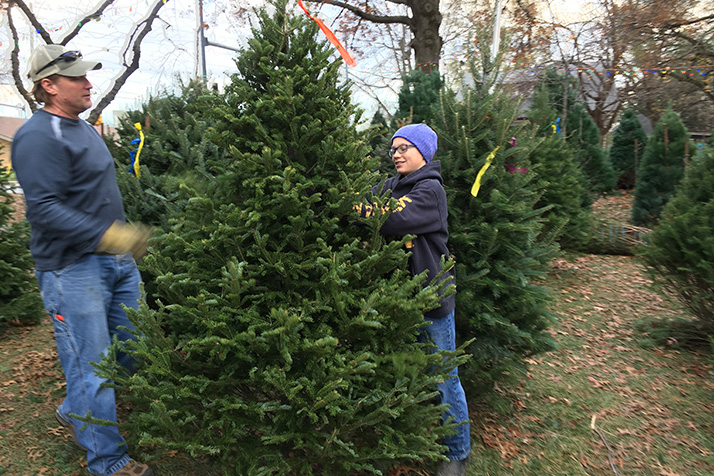boy scout christmas tree sales mean holidays are in full swing shawnee indian mission holiday open house saturday - Boy Scout Christmas Trees