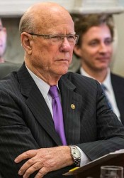 Sen. Pat Roberts. Photo via U.S. Dept. of Agriculture via Flickr.