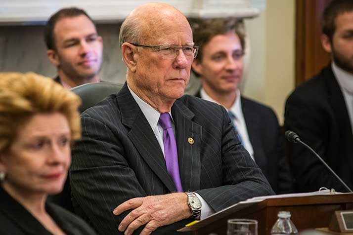 Sen. Pat Roberts. Photo via U.S. Dept. of Agriculture via Flickr.
